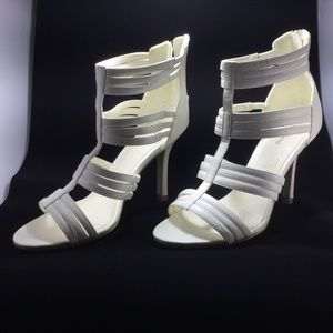 3 for $30 Spring white strappy heels size 37